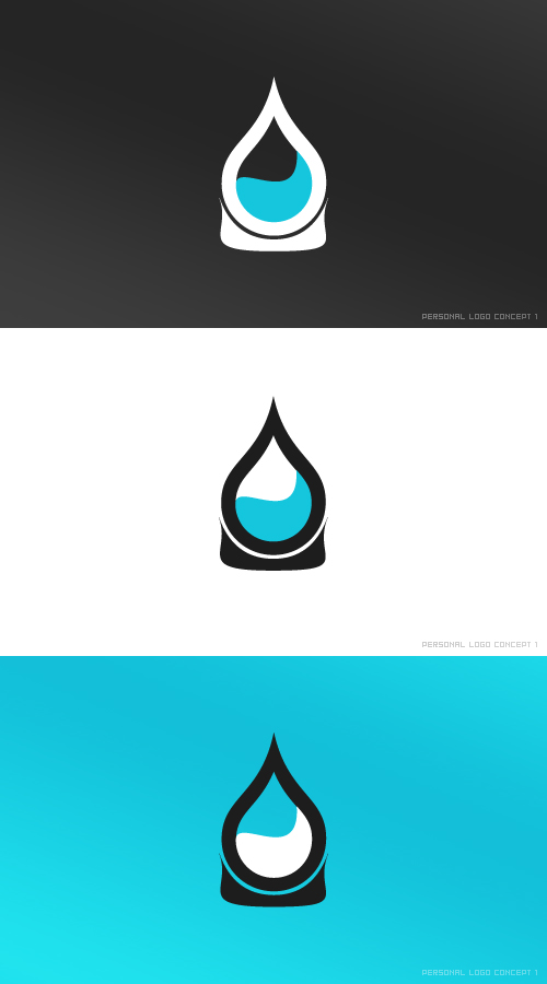 Personal Logo concept I by basstar