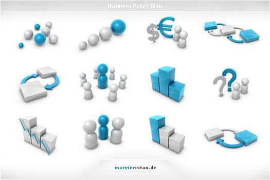Business Paket blau by basstar