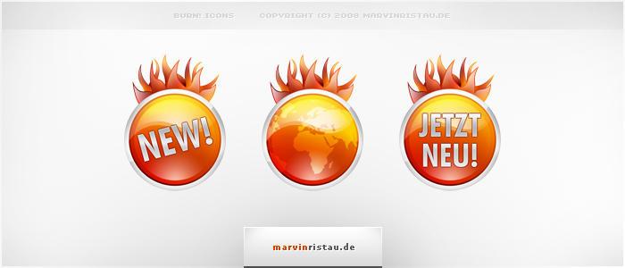 Burn Icons