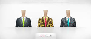 Business Suit Icons