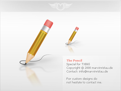 Pencil Icon by basstar