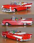 My LEGO 1957 Chevy Bel-Air Convertible 3