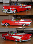 My LEGO 1957 Chevy Bel-Air Convertible 7