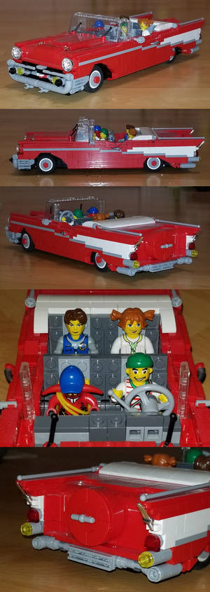 My LEGO 1957 Chevy Bel-Air Convertible 9
