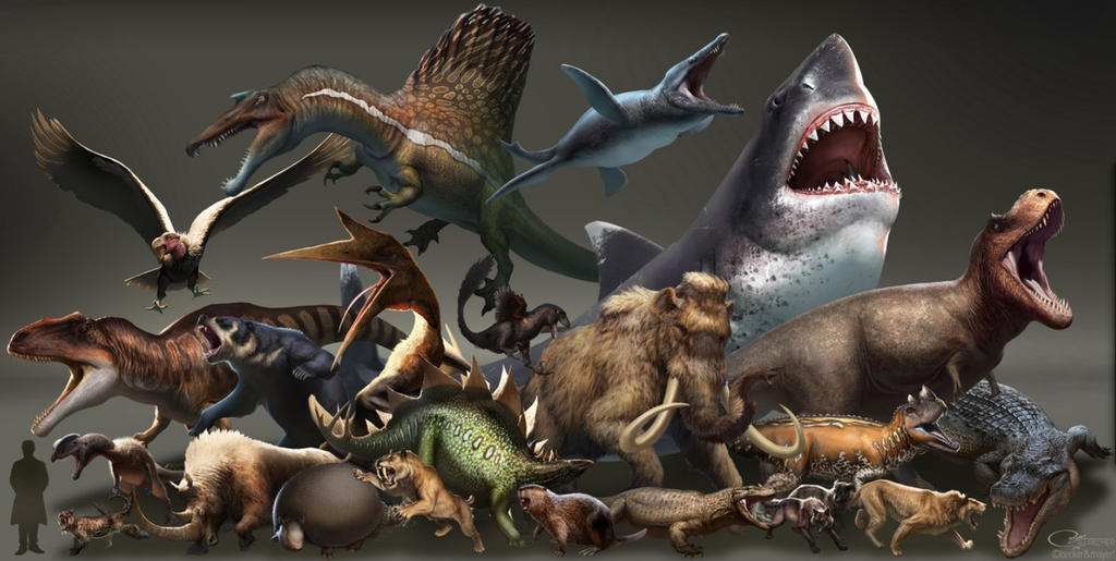 Dinosaurs vs. Beasts by Hi-doctor