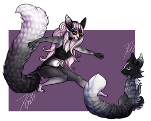 Anthro x Feral 2020 Commission Examples