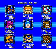 Megaman Maximum StageSelect 1 by hfbn2