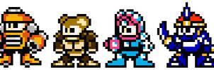 Megaman Maximum Costumes