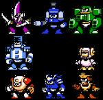 Megaman 10 Concept Art Sprites