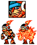 Mighty No 1 Sprites