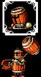 Shovel Knight OC - Barrel Knight