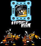 Impact Man - 8-Bit