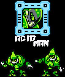 Acid Man 8-Bit by hfbn2