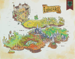 AU | Map of Lorrdveil