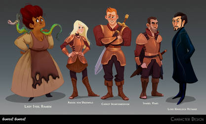 Guards!Guards! Character Lineup