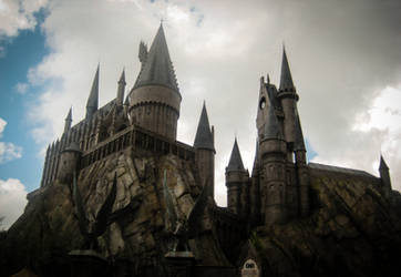 hogwarts by CombustingStar