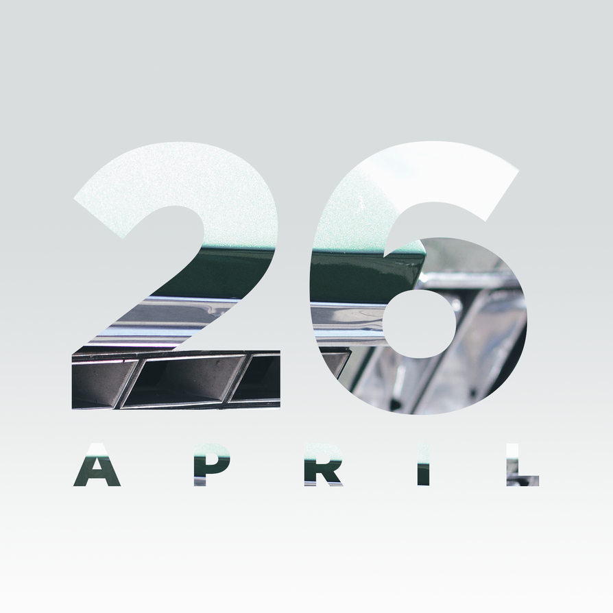 '26 Apr' - Calendar Art by AKSfx