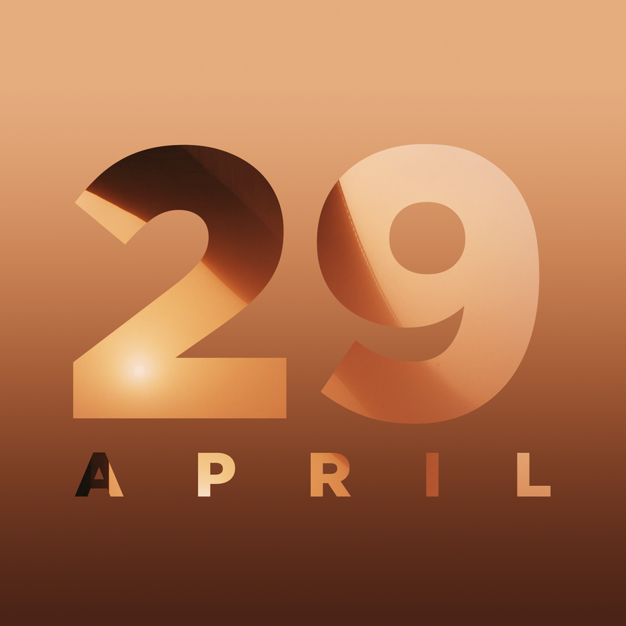 '29 Apr' - Calendar Art by AKSfx