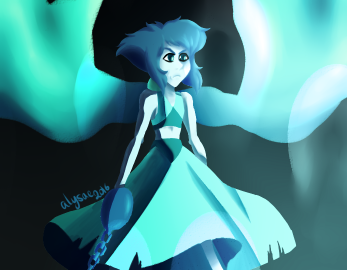 Another screenshot redraw Lapiz Lazuli from Steven Universe