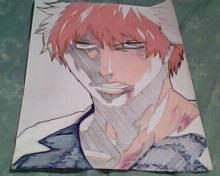 Fan Art - Ichigo Kurosaki From Bleach by artlines