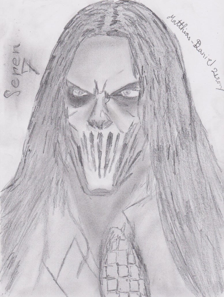 Slipknot Seven Mick Thomson by Matthias-D-Zerez