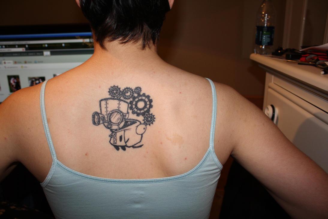 Steampunk Gir Tattoo by luretan