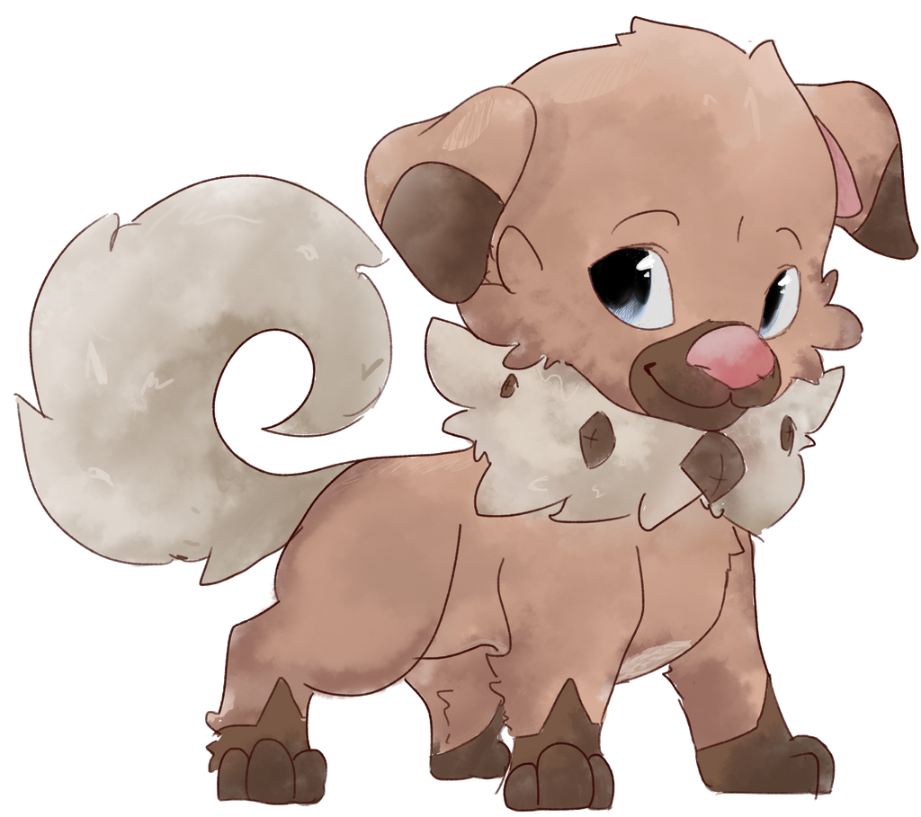 Cute Pokemon Rockruff Images