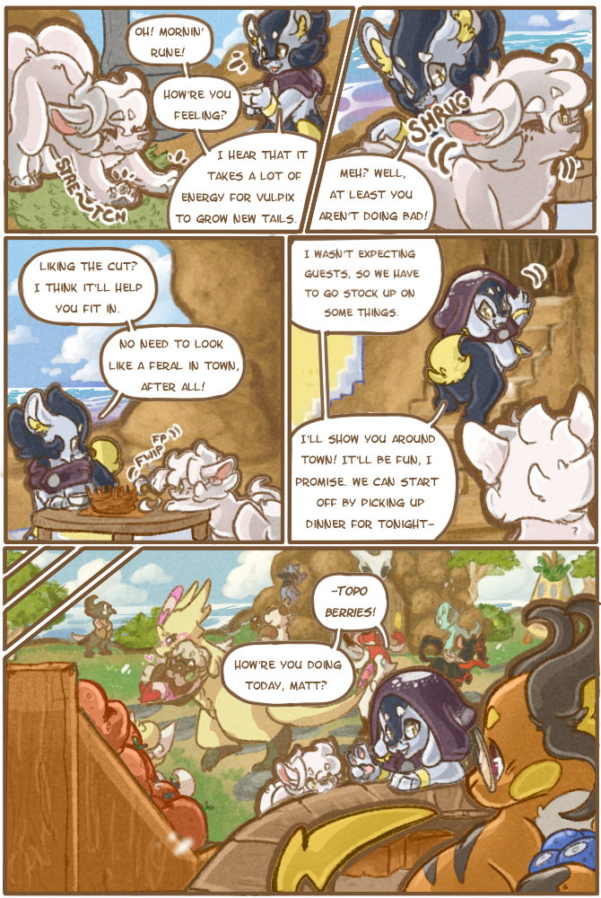 On Borrowed Time: Chapter 2, Page 1