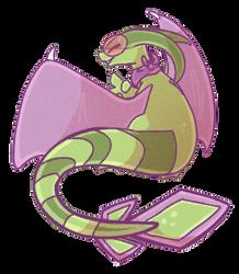 Birthday Dragon by Wooled
