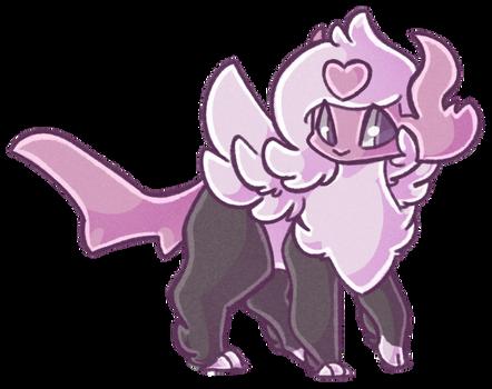 CM: Lavender Hearts