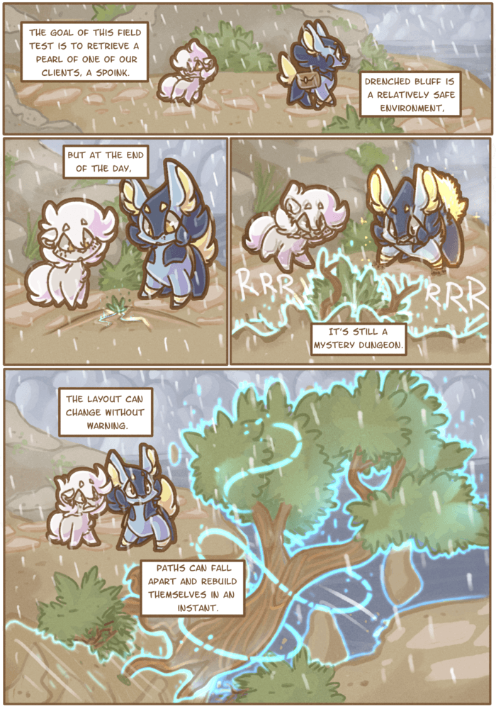 On Borrowed Time: Chapter 2, Page 27 by Wooled