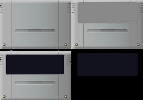 SNES cartridge template