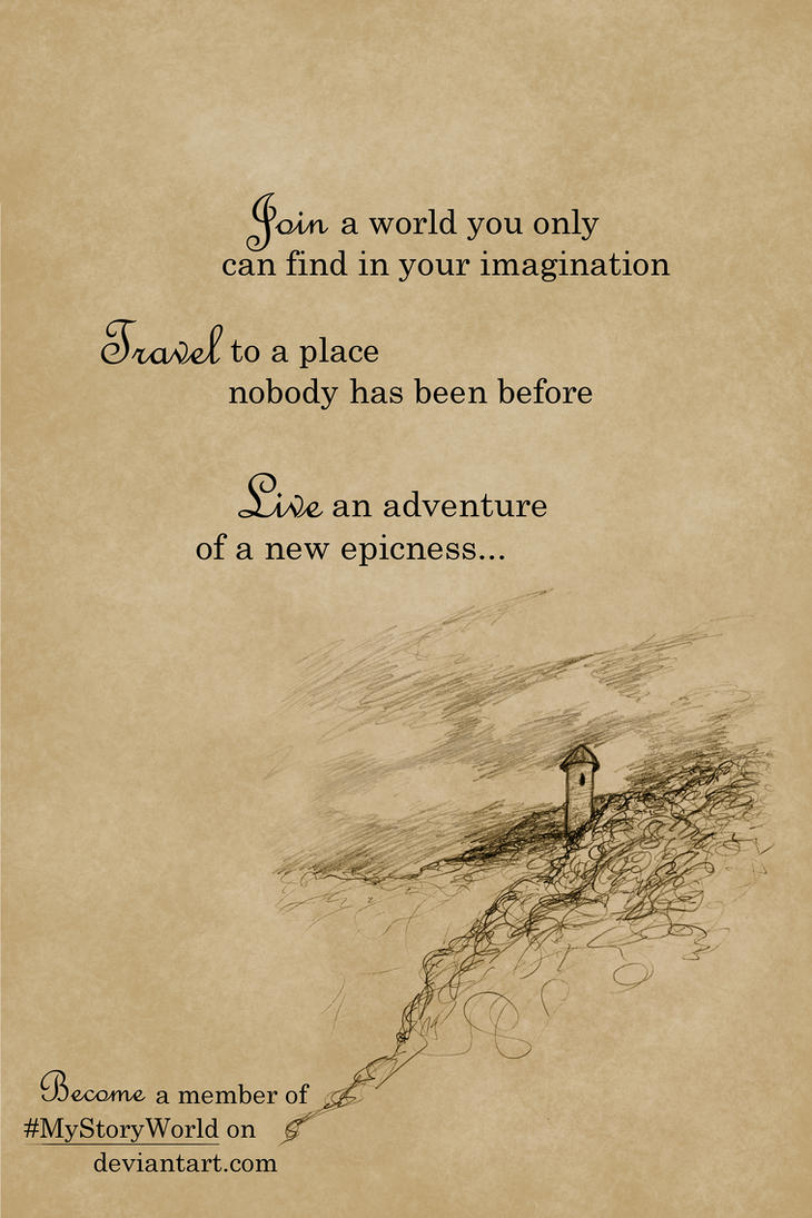 Join a world... by ThroughMyThoughts
