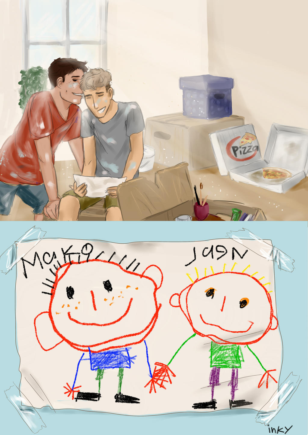 JeanMarco Week Day 2: Paint by ThroughMyThoughts