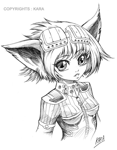 Manga style 4 by karafactory on deviantart - Coloriage manga difficile ...