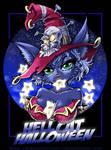 Hell Cat Halloween by Karafactory