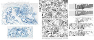 LA GUERRIERE INNOCENTE - page 21 making of