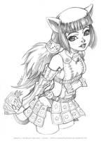 Wakfu - Ecaflip fan art by Karafactory