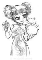 Tea or Kitty ? by Karafactory