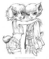 Best Friends by Karafactory