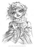 Heidi 1899 - Doodle by Karafactory