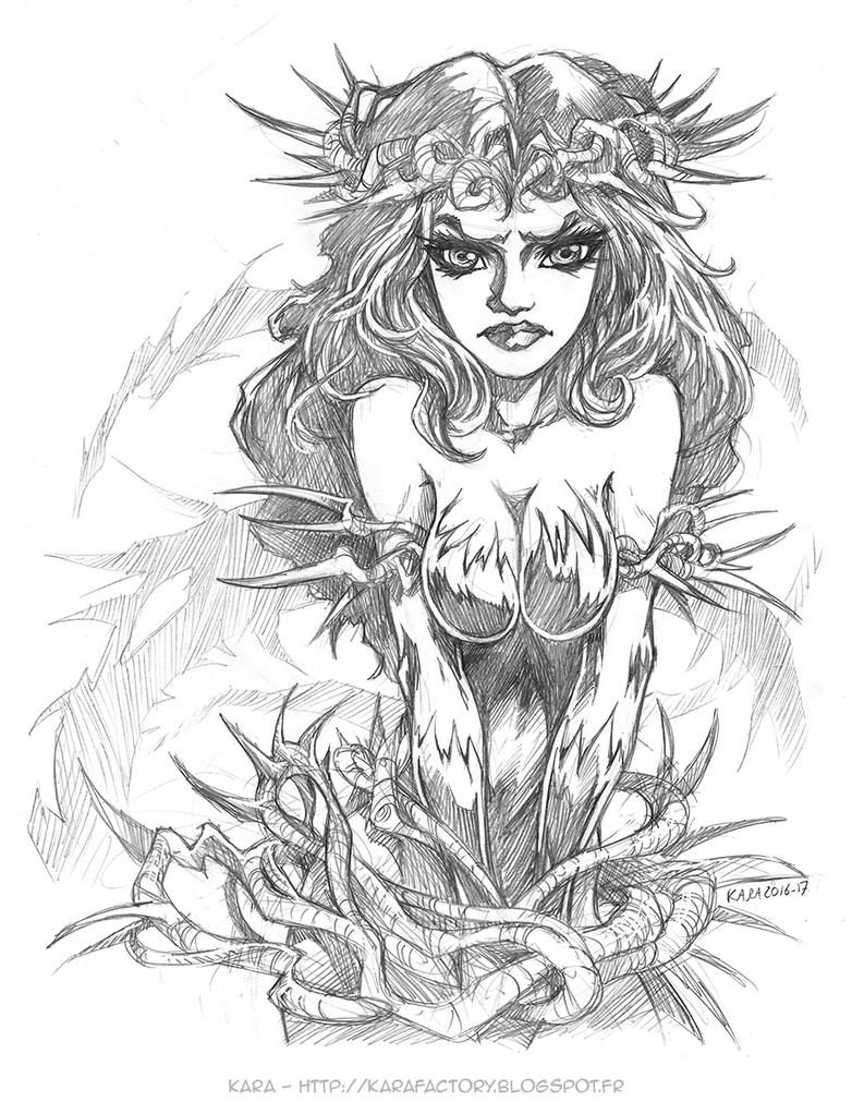 Poison Ivy Crown of Thorns by Karafactory