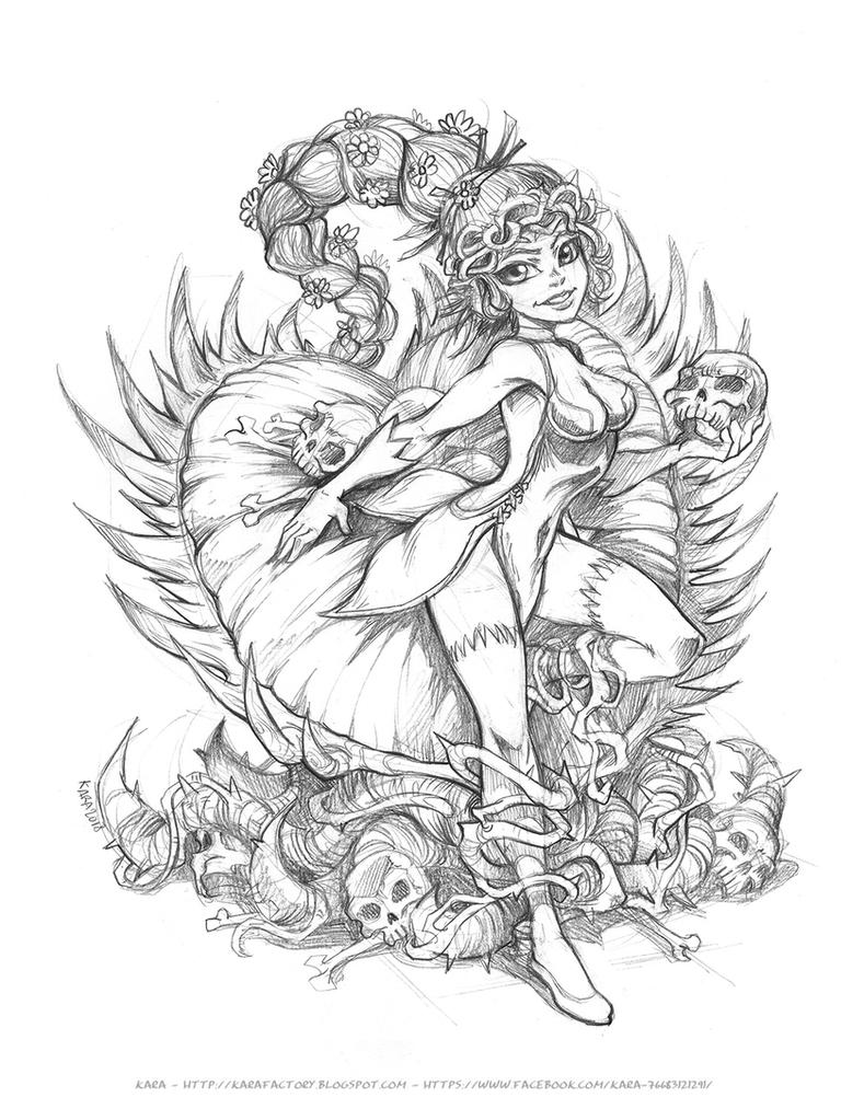 Carnivore Poison Ivy [Sketch] by Karafactory