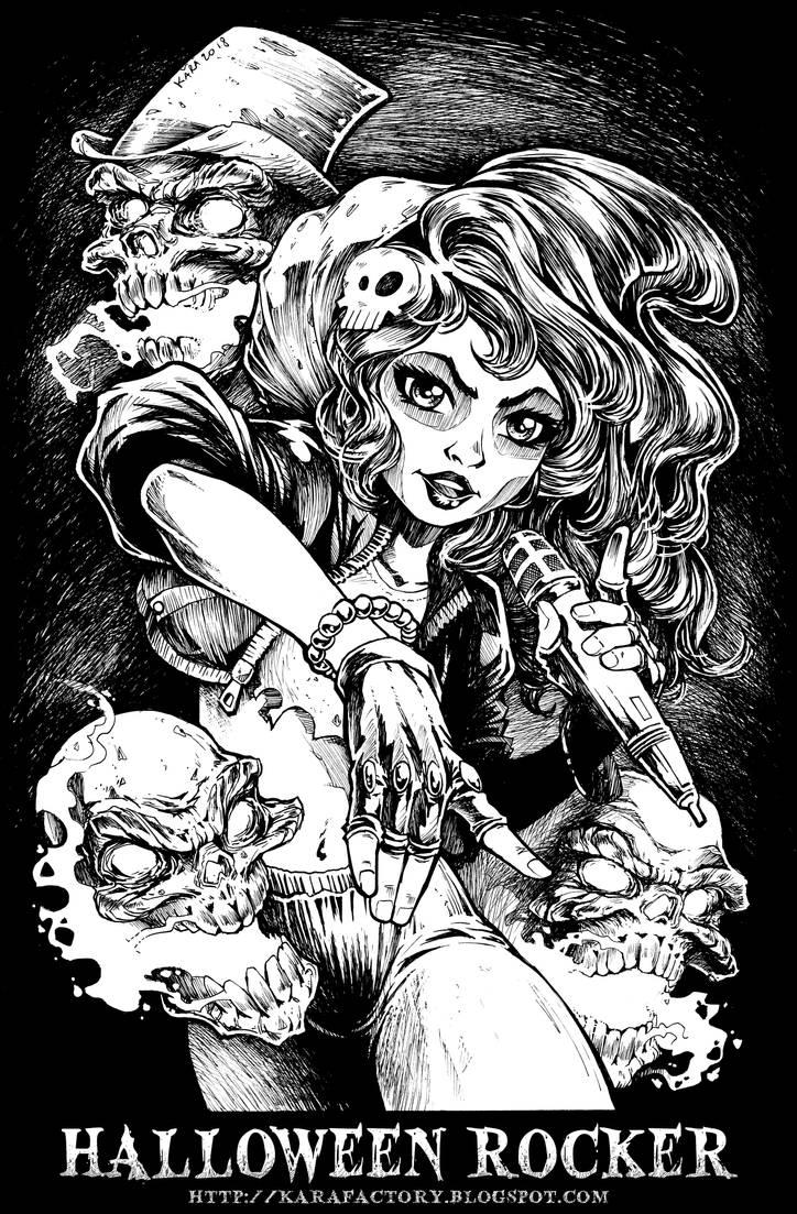 Halloween Rocker