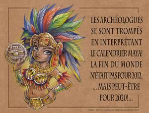 Mayan Calendar 2020