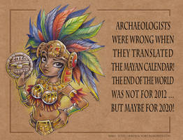 Mayan Calendar 2020 [english version]