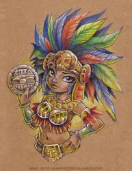 Mayan Calendar 2020 [pinup version]