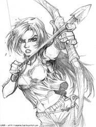 Lara Croft [Reboot] Sketch