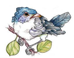 just an ordinary bird by felipecamargo