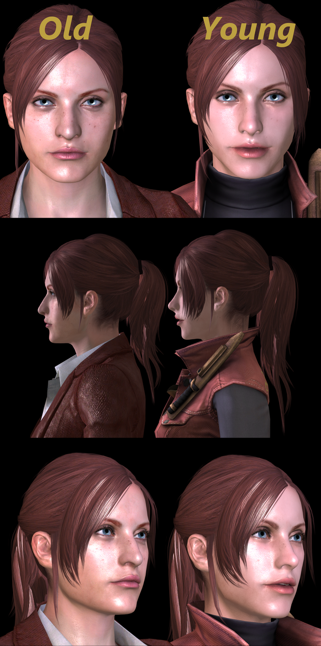 WIP Claire Redfield Yong (raccoon city) by XXMAUROXX